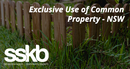 Exclusive Use of Common Property