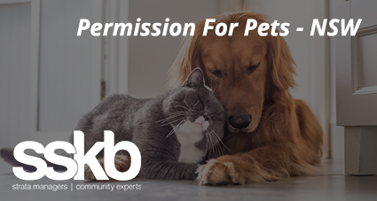 Permission For Pets - NSW
